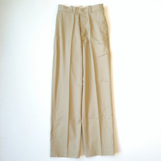 LENO<br>【HOMME】WIDE CHINO TROUSERS