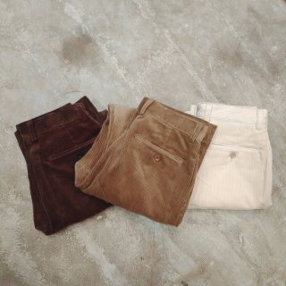 LENO<br>【 HOMME 】CORDUROY TROUSERS