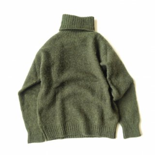 <img class='new_mark_img1' src='//img.shop-pro.jp/img/new/icons8.gif' style='border:none;display:inline;margin:0px;padding:0px;width:auto;' />Shetland Woollen Co.<br>Turtle neck<br>Plain Shaggy Dog