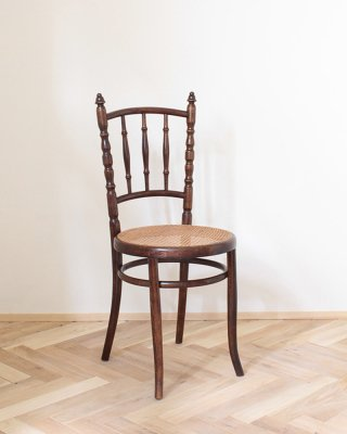 Bent Wood Chair .a