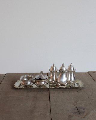 Silver Spice Set