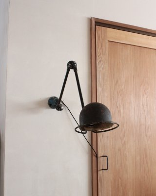 Wall Lamp, Jielde -2 arm<img class='new_mark_img2' src='https://img.shop-pro.jp/img/new/icons5.gif' style='border:none;display:inline;margin:0px;padding:0px;width:auto;' />