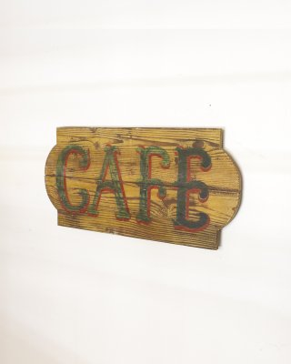 "Sign Board ""CAFE"""