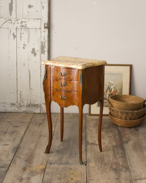 Marble Top Night Table