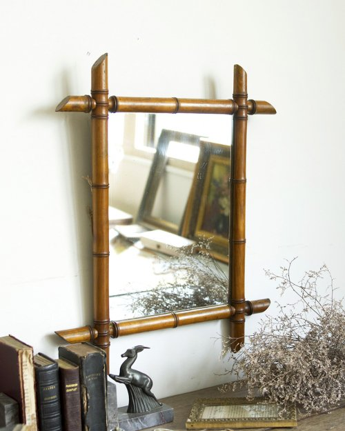 バンブーミラー  Bamboo Mirror