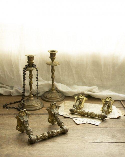 真鍮 ハンドル.a  Brass Handle