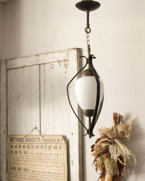 シーリングガラスランプ  Glass Lamp