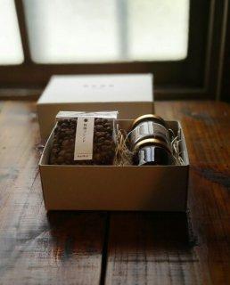 【母の日ギフト】コーヒー豆&キャンドルギフトボックスセット