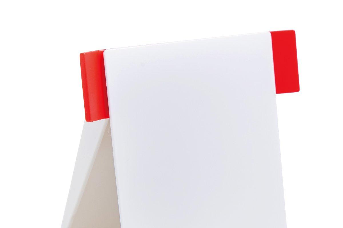 ペーパースタンド(白×赤)