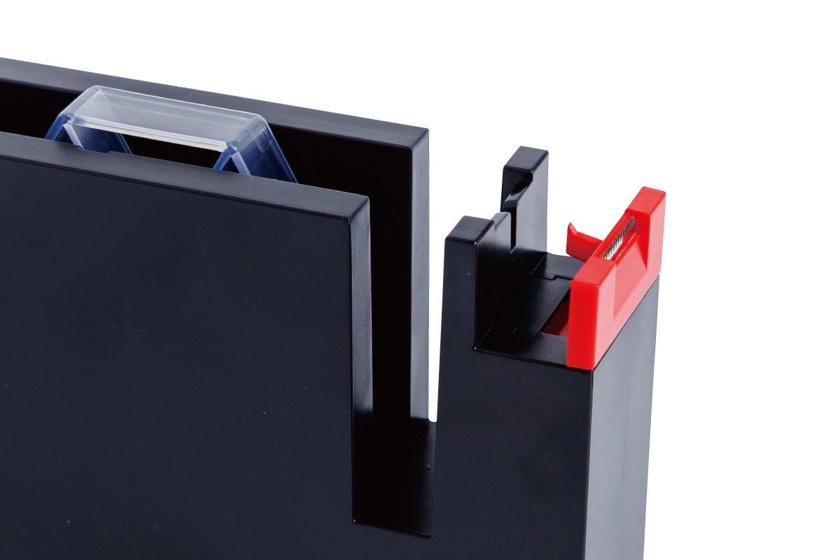 テープカッター大(黒×赤)