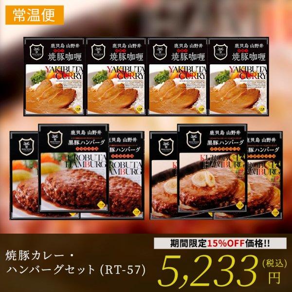 焼豚カレー・ハンバーグセット(RT-57)