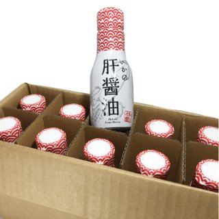 いかの肝醤油 鮮度保持ボトル<br>200ml 10本セット