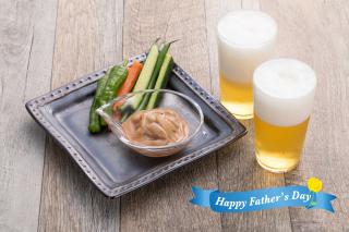 ビールに合ういかの塩辛とお刺身2種