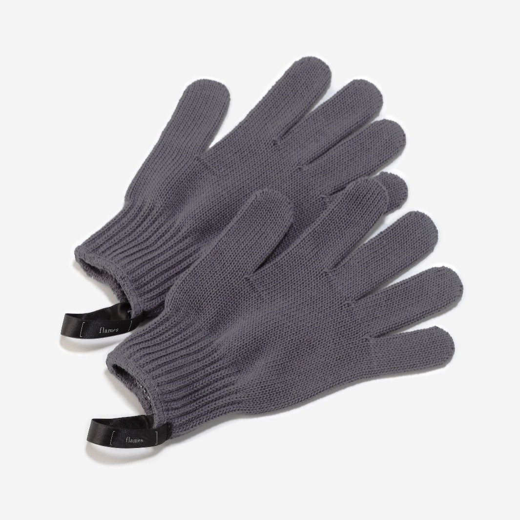 flames BBQ gloves
