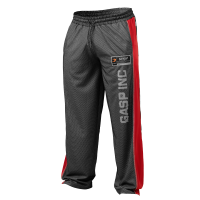 No1 mesh pant, Black/red
