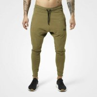 Harlem zip pants, Military green