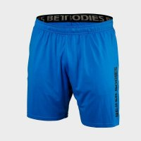 Loose function short, Bright blue