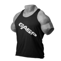 GASP Vintage T-Back  Black