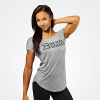 Better Bodies Gracie tee Gray