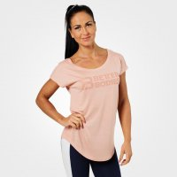 Better Bodies Gracie tee peach