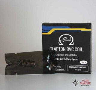 INNOKIN「iSub CLAPTON BVC」0.5Ω 1set(5pcs)