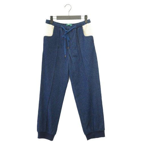 【会員登録でお得価格表示されます】<br>ohta オオタ<br>denim line pants デニムラインパンツ<br>送料無料