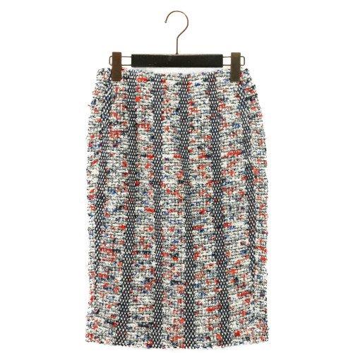 【SUMMER SALE30%オフ】COOHEM コーヘン<br>BLAZER TWEED  SKIRT ツイードスカート<br>送料無料 /日本