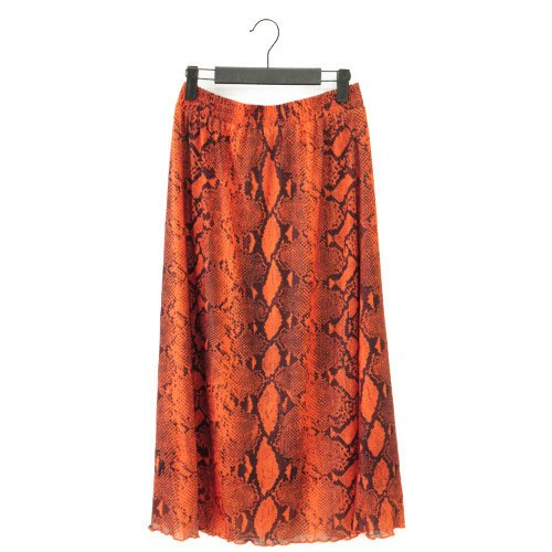 【最終価格】【SALE50%オフ】NUMPH ニンフ<br>パイソン柄スカート<br>デンマーク/メール便対応可能