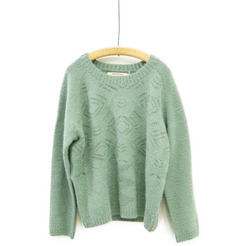 【新春SALE30%オフ】Nice Things ナイスシングス<br>ペールグリーンセーター<br>スペイン/