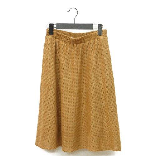 【MORE SALE60%オフ】<br>NUMPH ニンフ<br>スウェードタッチパンチングスカート<br>デンマーク