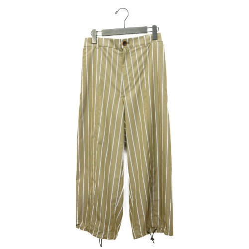 【SUMMER SALE30%オフ】<br>My Beautiful Landlet<br>typewriter stripe spindle pants<br>送料無料/メール便対応可能/日本