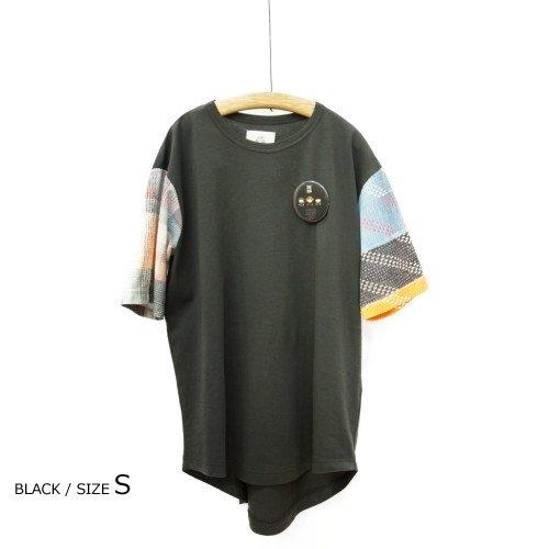 【SUMMER SALE20%オフ】<br>STOF ストフ<br>ラリーキルトリラックスTシャツ<br>日本/メール便対応可能