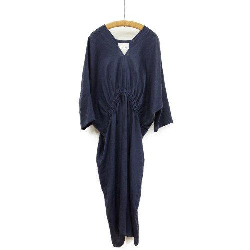 SI HIRAI スーヒライ<br>リネンワンピース/rectangle dress<br>送料無料/日本