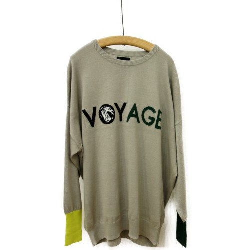 VOY ヴォーイ<br>VOYAGE sweater<br>送料無料/メール便対応可能/Japan<br>