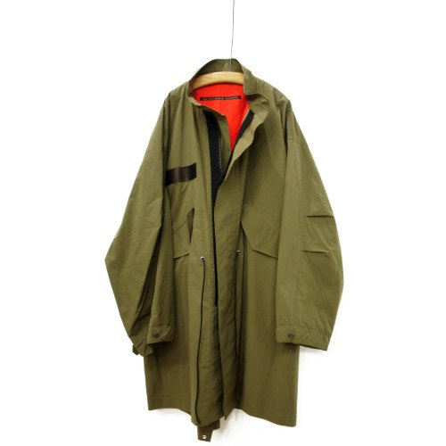My Beautiful Landlet マイビューティフルランドレット<br>ripstop military coat<br>送料無料/日本