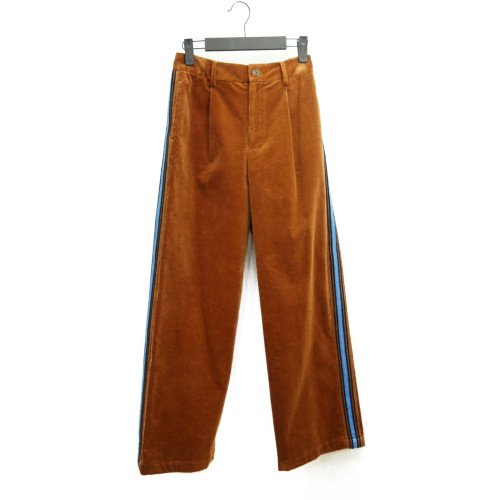 COOHEM コーヘン<br>KNIT SIDELINE CORDUROY PANTS<br>送料無料 /日本