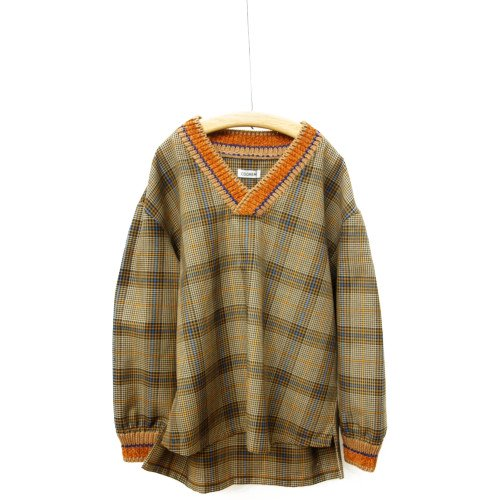 COOHEM コーヘン<br>KNIT COMBI SHIRT<br>送料無料 /日本