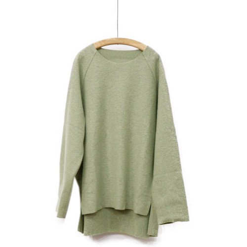 VOAAOV ヴォアーブ<br>RING YARN COMPRESSED JERSEY クルーネック<br>送料無料/日本