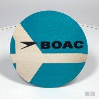 <img class='new_mark_img1' src='https://img.shop-pro.jp/img/new/icons14.gif' style='border:none;display:inline;margin:0px;padding:0px;width:auto;' />イギリス 1960-70年 コースター BOAC 英国航空