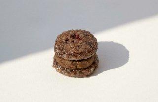 おはぎバーガーショコラ 6個セット・茶葉付き