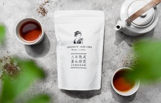日本で最も美しい村の「特上ほうじ」茶葉 100g入