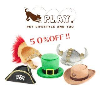 【P.L.A.Y 犬用おもちゃ】マットハッター パイレーツ