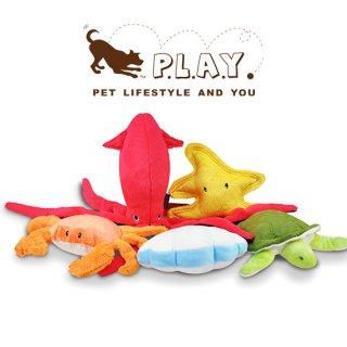 【P.L.A.Y 犬用おもちゃ】アンダーザシー キングクラブ