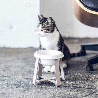 【ペット用食器】pecoloフードスタンド・ S tallサイズ (選べるボウル)/小型犬・猫