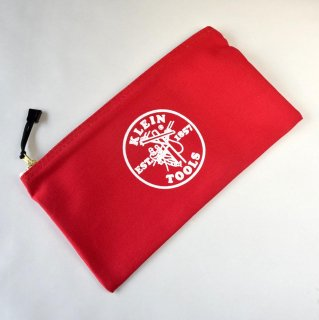★USA PRODUCT★Klein Tools Canvas Zipper Bag 5141 / Red