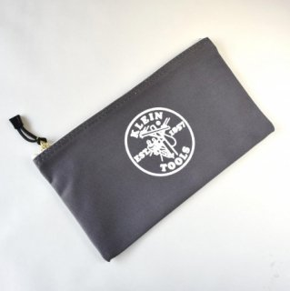 ★USA PRODUCT★Klein Tools Canvas Zipper Bag 5141 / Gray