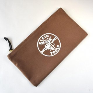 ★USA PRODUCT★Klein Tools Canvas Zipper Bag 5141 / Brown