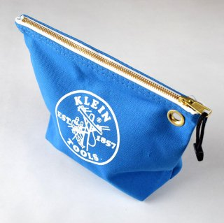 ★USA PRODUCT★Klein Tools Canvas Zipper Bag for Consumables 5539 / Blue