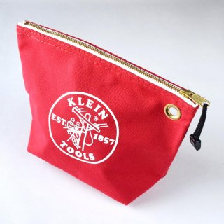 ★USA PRODUCT★Klein Tools Canvas Zipper Bag for Consumables 5539 / Red
