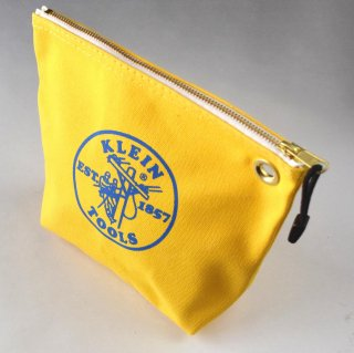 ★USA PRODUCT★Klein Tools Canvas Zipper Bag for Consumables 5539 / Yellow